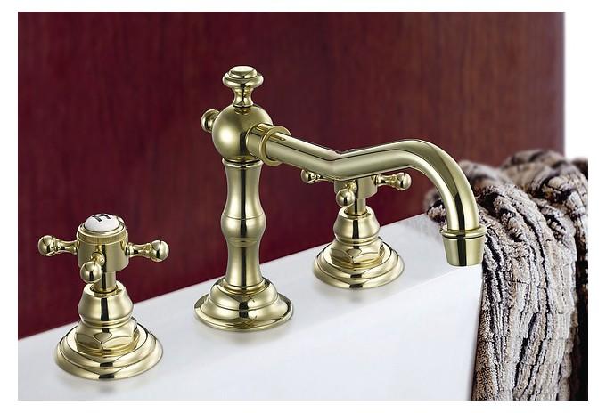 Robinet de salle de bain.