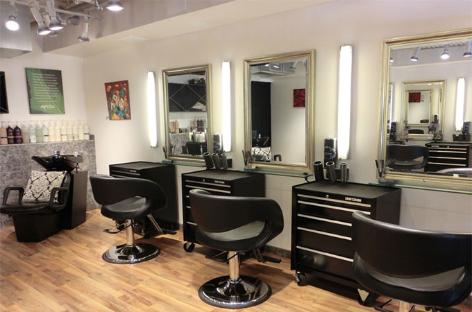 Tout savoir sur la décoration d\'un salon de coiffure.