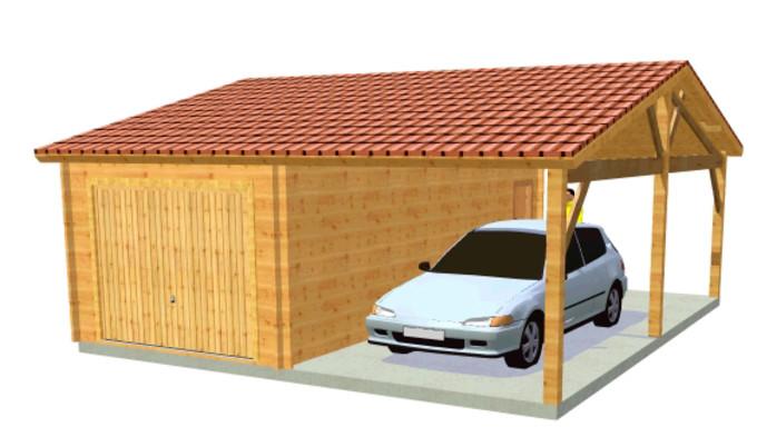 Tout connaitre sur le garage en bois for Garage prefabrique bois prix