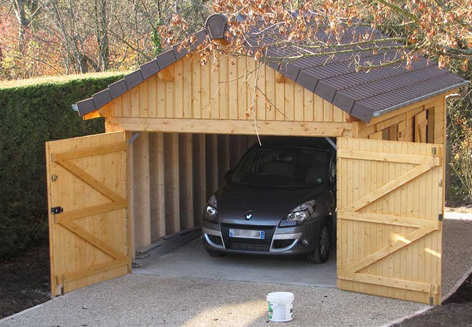 Combien co te un garage en bois for Garage bois autoclave