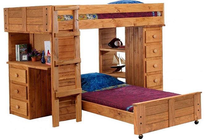 lit mezzanine en bois l 39 essentiel savoir. Black Bedroom Furniture Sets. Home Design Ideas