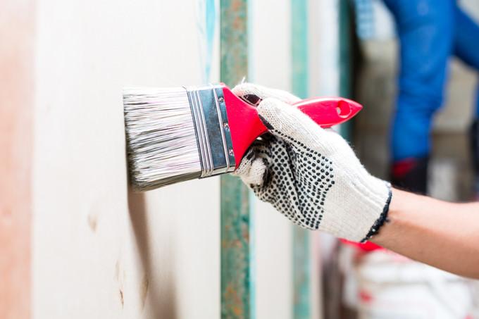 Refaire sa peinture apr s un d g t des eaux - Refaire plafond apres degats des eaux ...