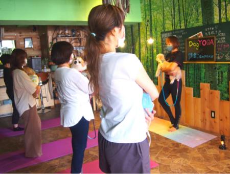 中里さんのクラスは少人数、終始アットホームな雰囲気で進行する。