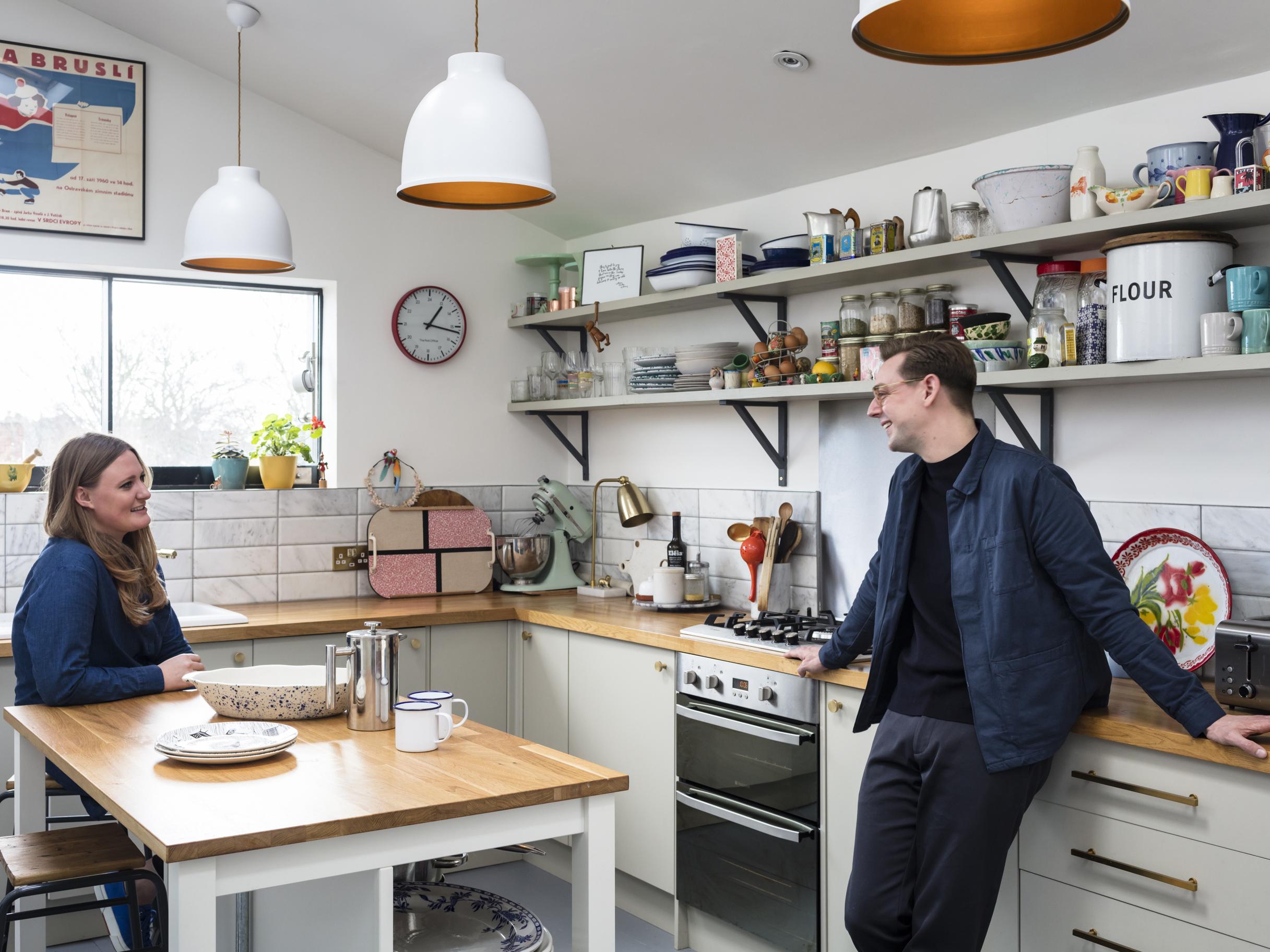 Creative Director Chris creates a colourful London home