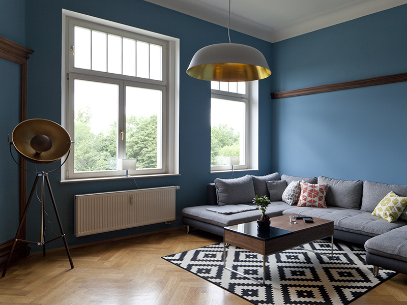 A tour of Christoph's historic German apartment