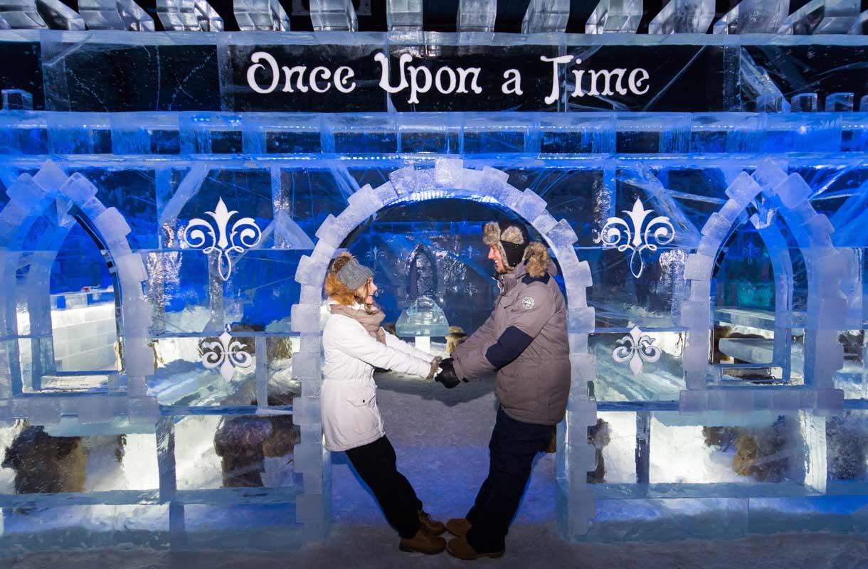 Lumilinnassa voi mennä vaikka naimisiin.