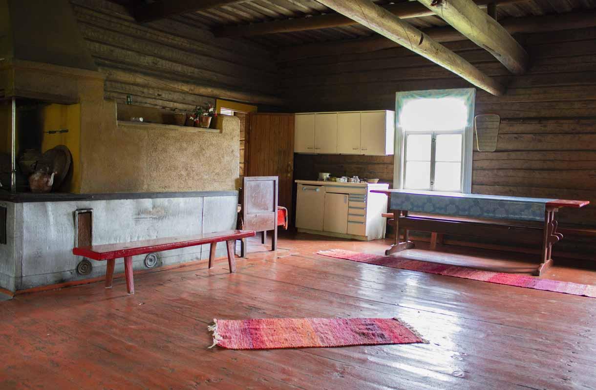 Pattoin talossa voi tutustua vanhanajan maalaiselämään.