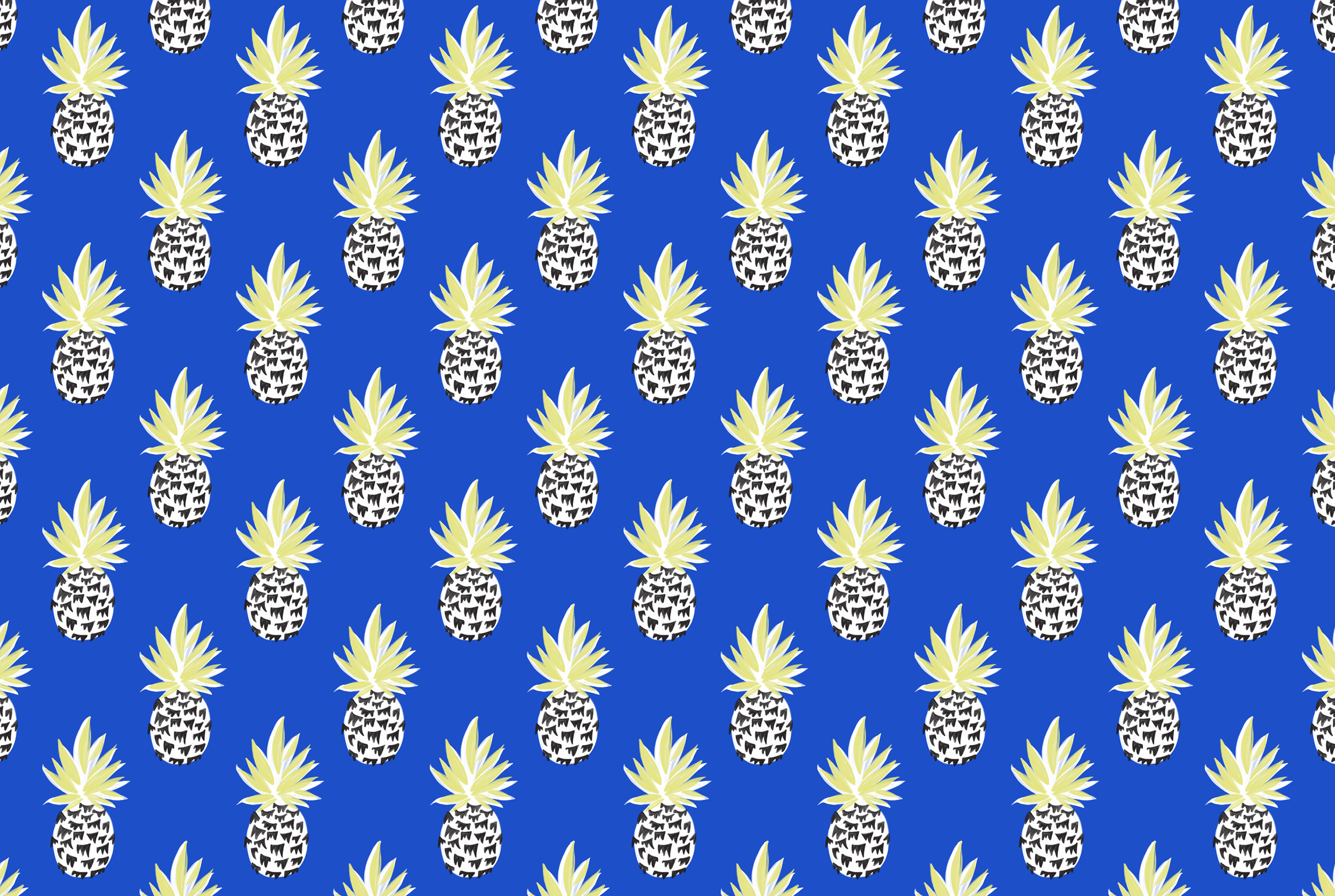 click here to download pineapples cobalt desktop