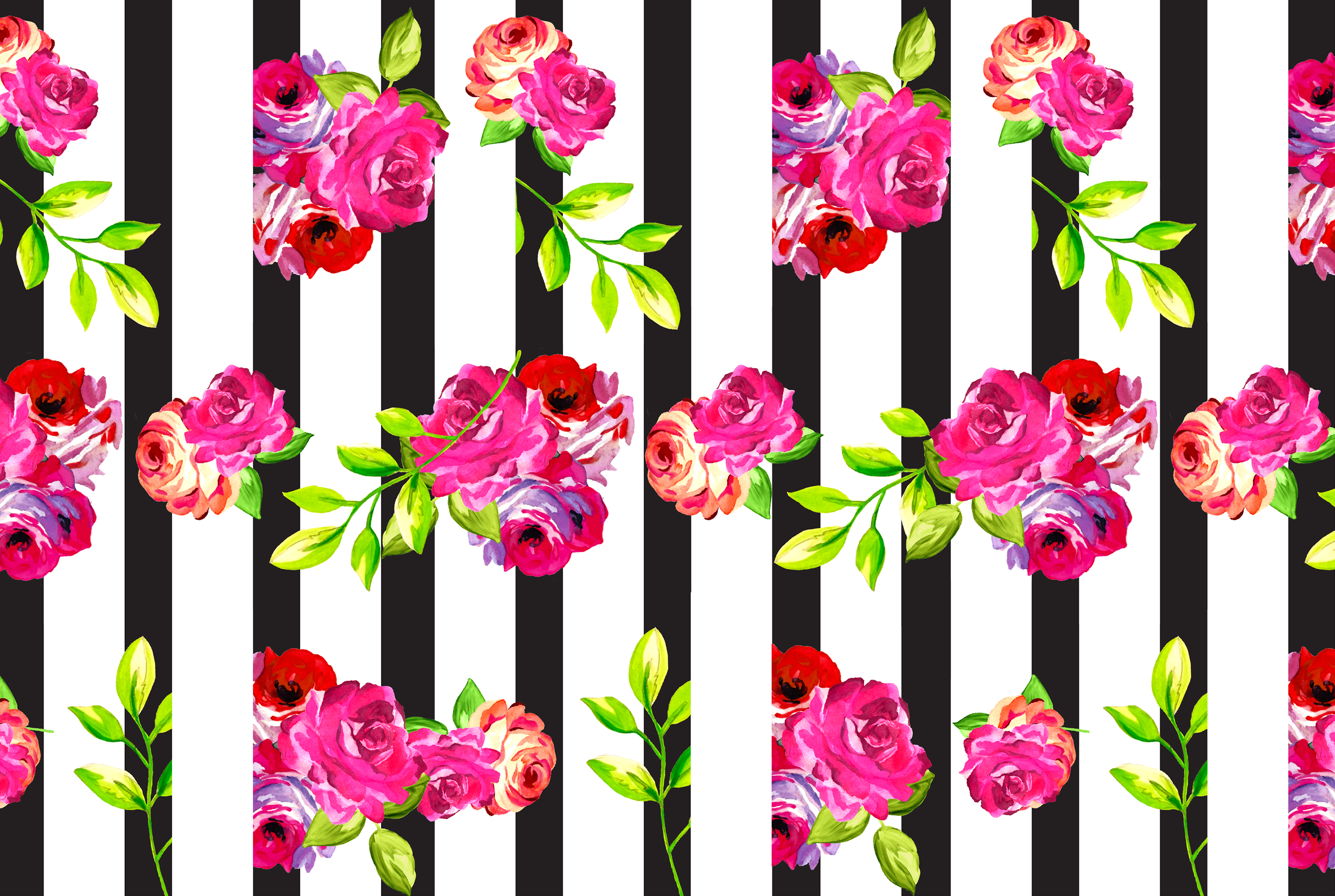 click here to download floral vertical stripe desktop