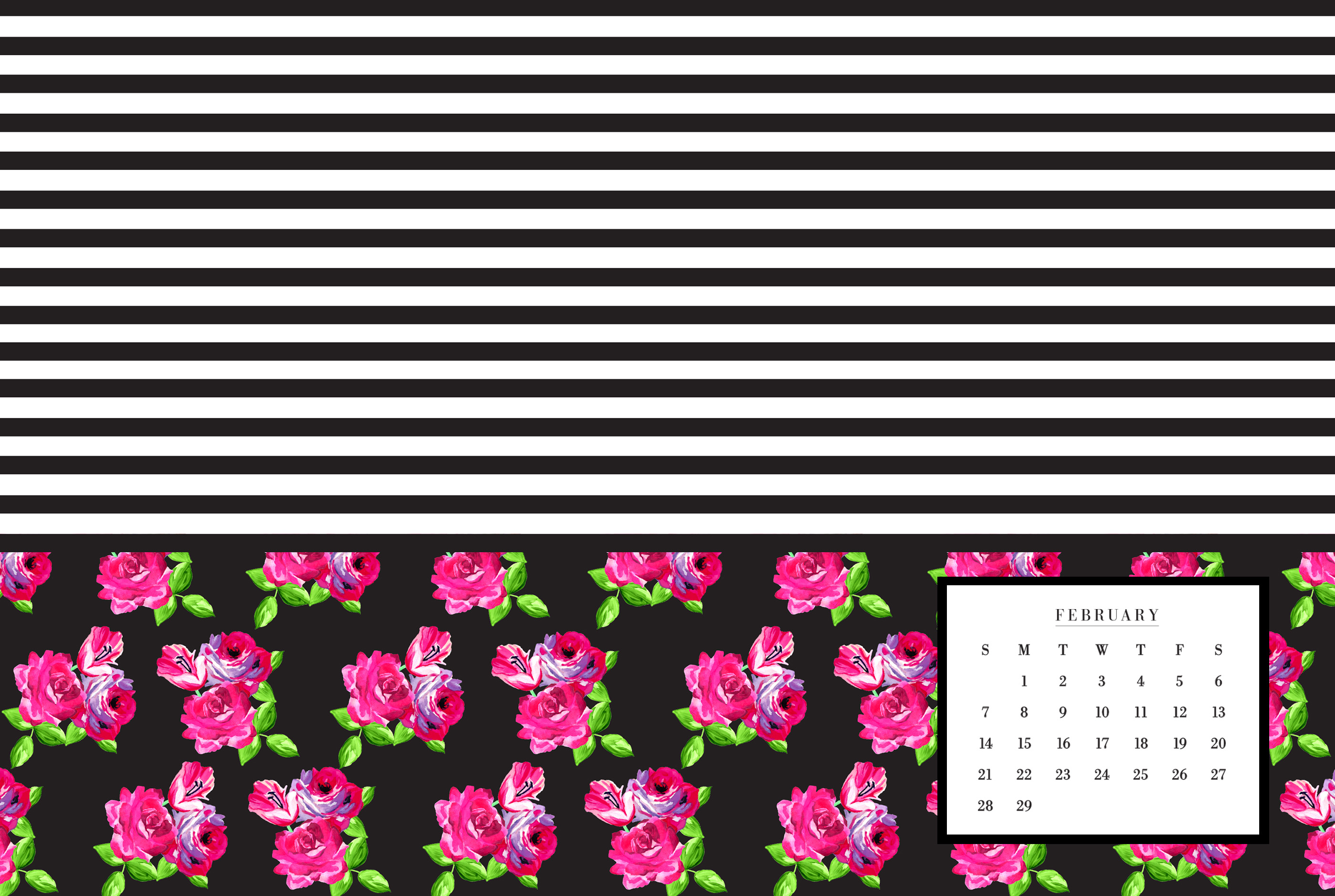 February 2016 Wallpaper Downloads May Designs