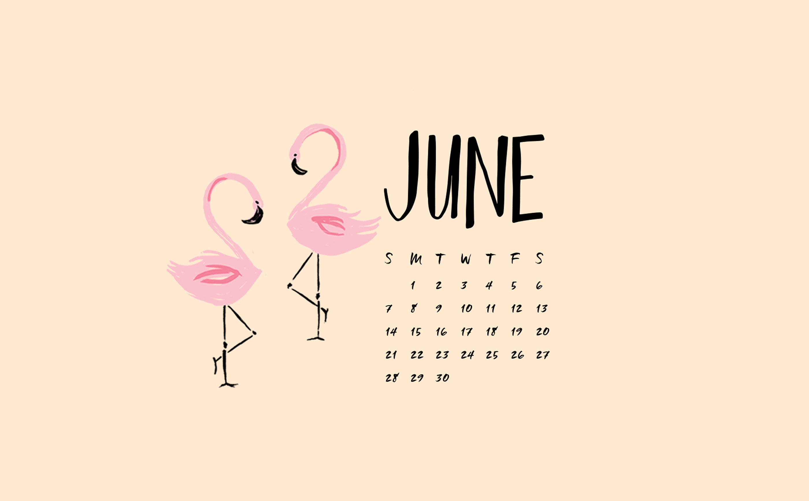desktop wallpapers click here to download mint calendar flamingos