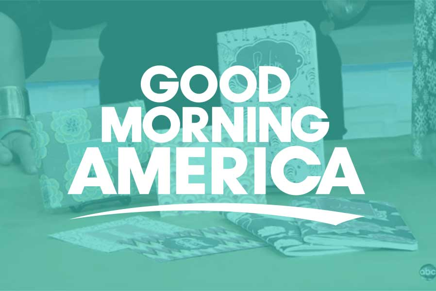 Good Morning America Segments Today : Personalized notebooks agendas and stationery may designs