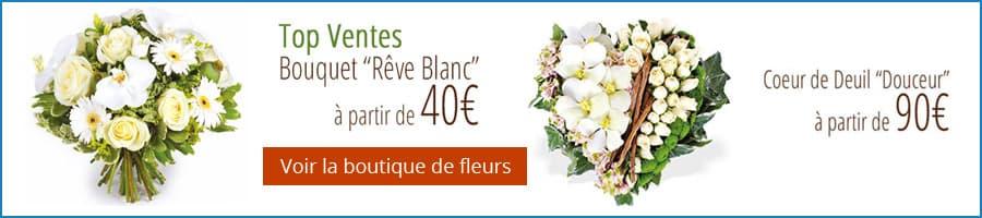Lien vers boutique fleurs