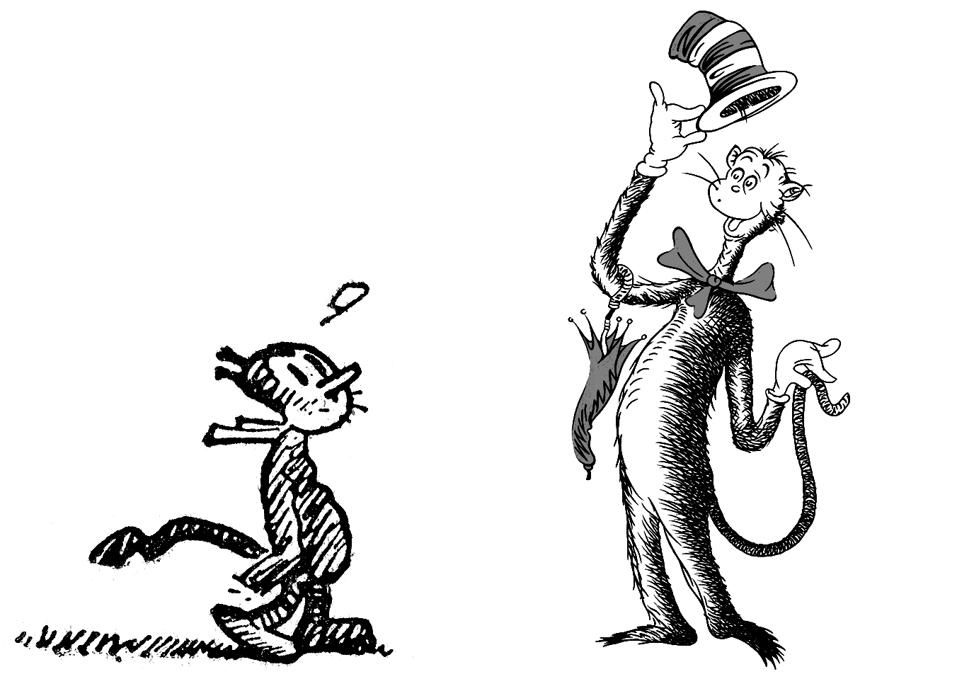 How Dr Seuss Created The Cat In The Hat The Work Behind The Work