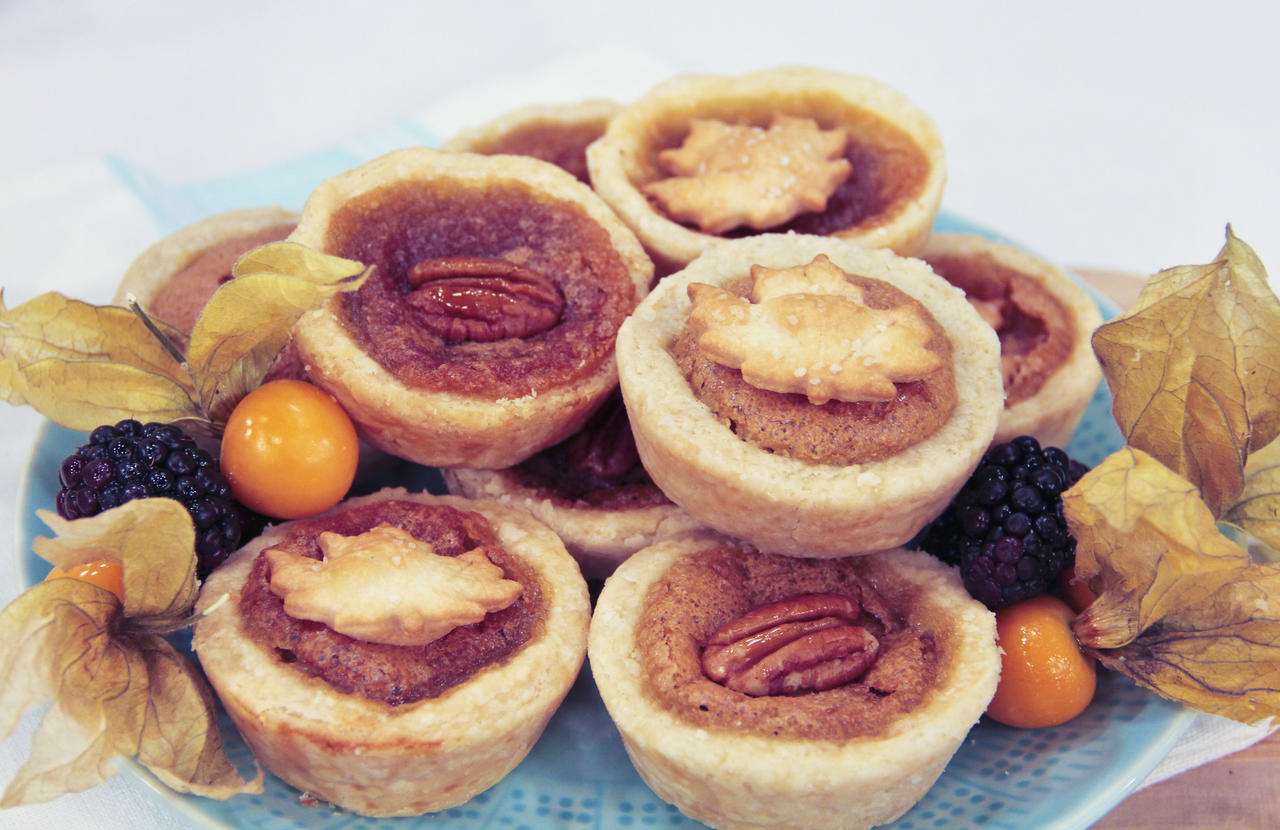 Maple butter tarts canadian living crafts