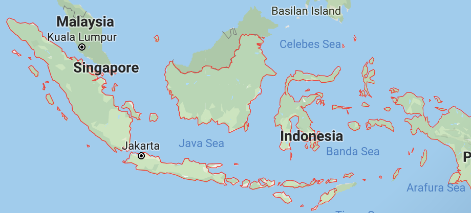 According to various estimates, Indonesia contains between 16,056 and 17,508 islands. That turns the delivering of your product into logistical nightmare
