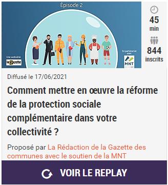 Replay webinaire La Gazette sur la PSC - 17 juin 2021