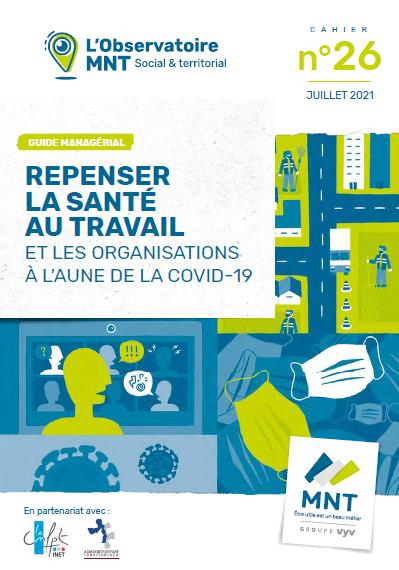 Observatoire MNT cahier 26 repenser la santé au travail couverture