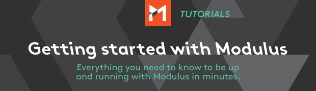 Getting Started with Modulus Video Tutorial