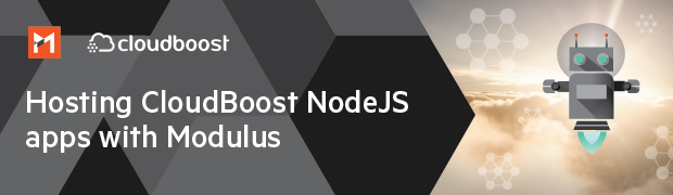 Hosting CloudBoost Node.js apps with Modulus