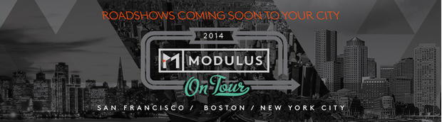 Modulus On Tour Roadshows