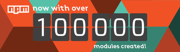100,000 npm Modules