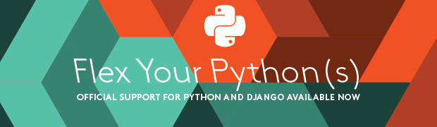 Official Support for Python and Django Available Now