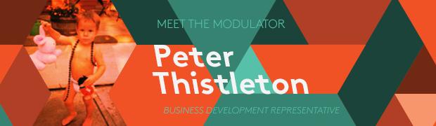 Peter Thistleton Joins Modulus