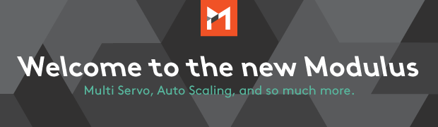 The New Modulus : Servo Sizes, Auto Scaling and More