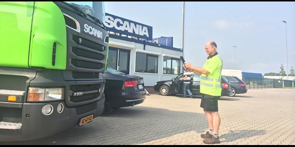 Scania taxeren MoreApp