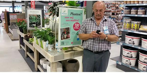 Releva plantcoach werkt met MoreApp