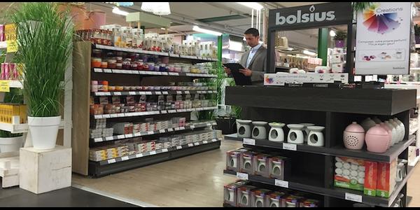 Digitale Store Check van Bolsius met MoreApp