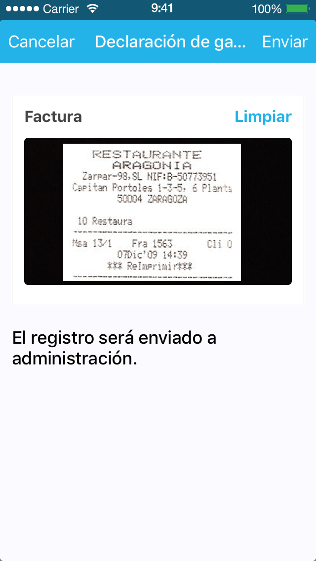 App Recibos