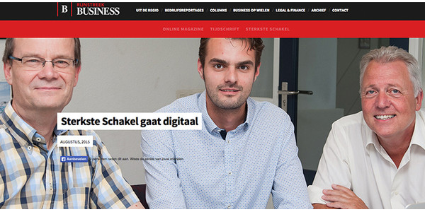 Rijnstreek Business interview Thom Bokelaar over MoreApp