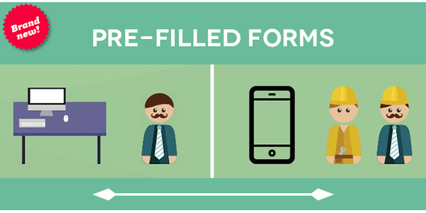 Pre-filled forms MoreApp