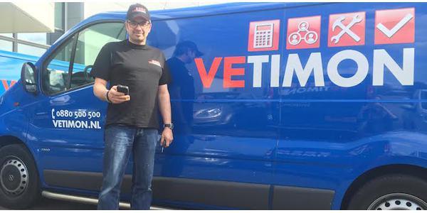 Urenregistratie app van Vetimon