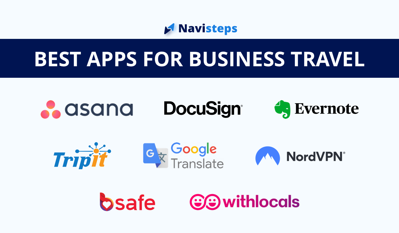 The 8 Best Apps for Business Travel