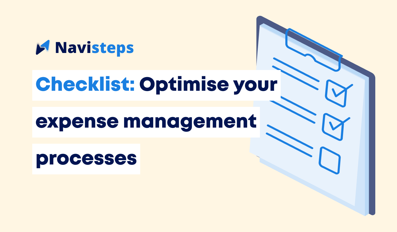 A quick checklist to optimise your expense management process