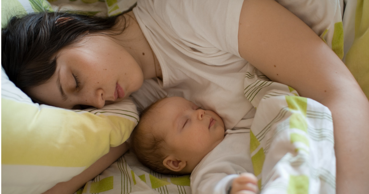 фото спящих мам