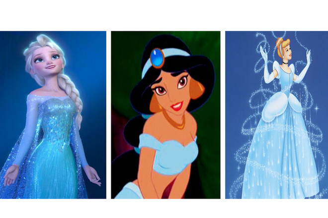 This is why female Disney characters are always dressed in ...  This is why fem...