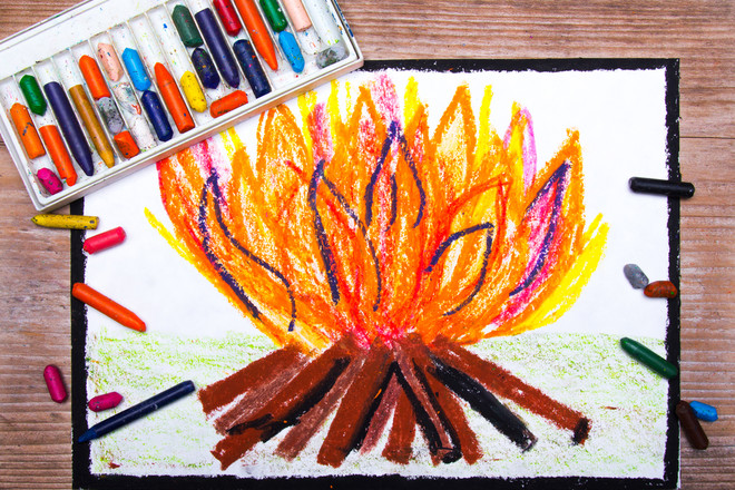 bonfire craft ideas bonfire pictures to colour in netmums 1152