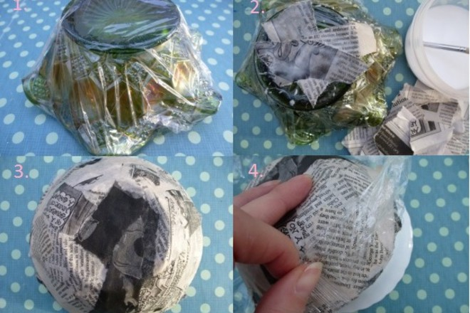 how to make paper mache bowls netmums