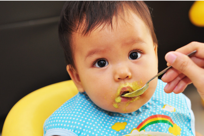 Can Babies Eat Solid Food At Night