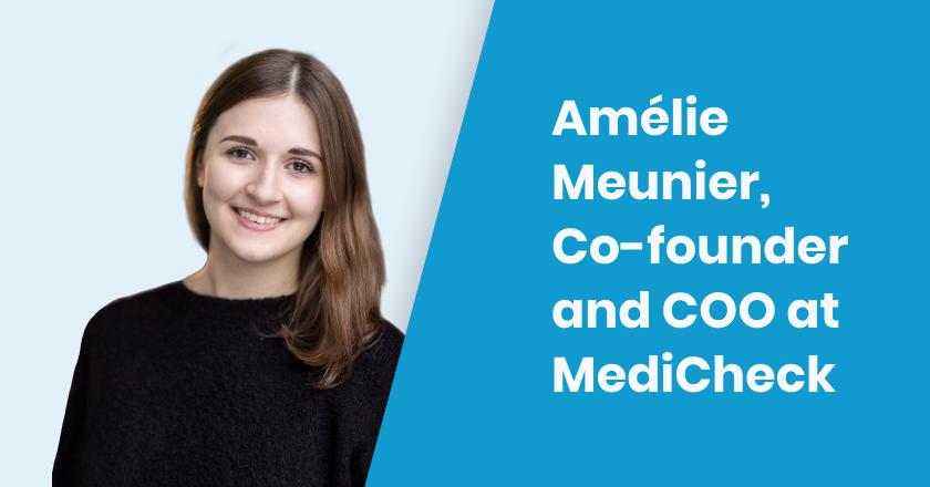 Nightborn - Amélie Meunier, Co-founder and COO at MediCheck