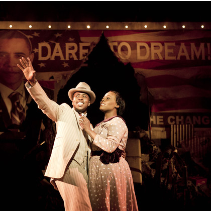 Oriana Pooles in Ragtime the Musical