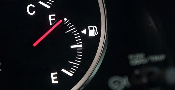 Jauge d'appréciation du niveau de carburant