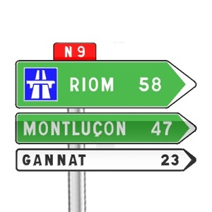 Panneaux de direction