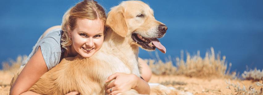 petsitter-with-a-dog