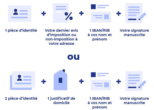 Quels documents pour ouvrir un compte bancaire en ligne ? LCL Banque et Assurance