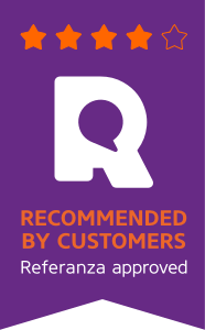 Recommended by Customers 4 stars badge